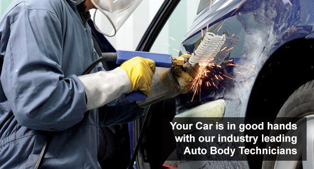 Auto body repair shop facilities