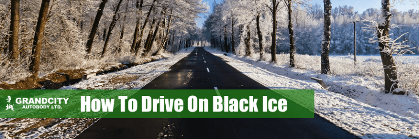 black ice driving