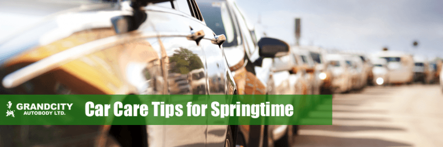 Spring car maintenance