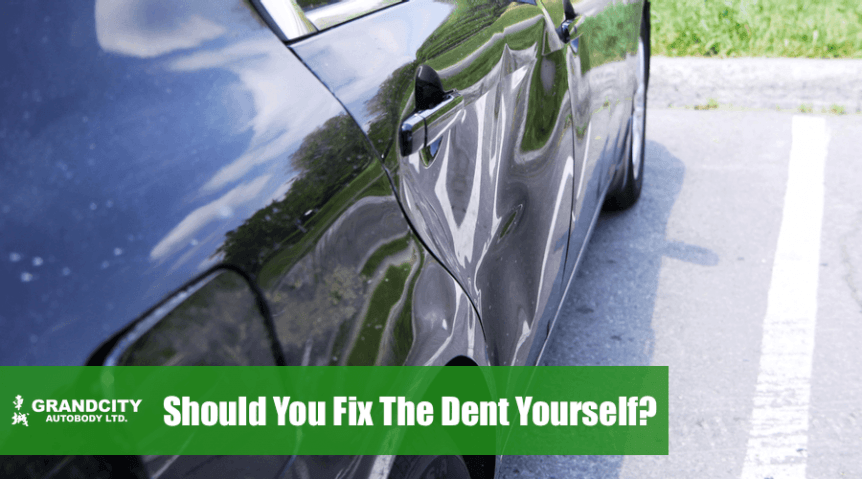 should-i-fix-the-car-dent-myself