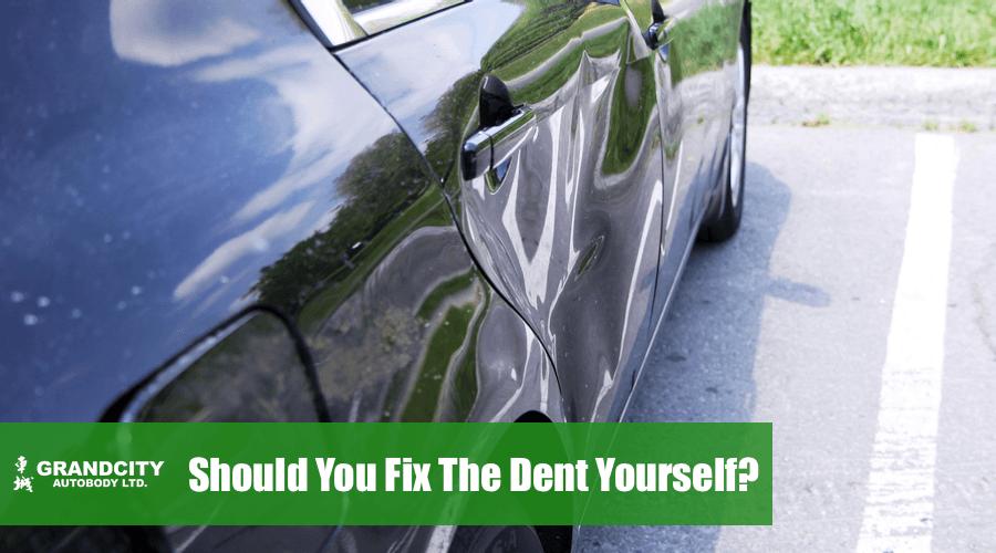 should-i-fix-the-car-dent-myself