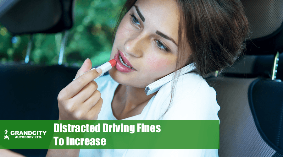 distracted driving fines increase